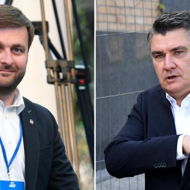 Tomislav Ćorić i Zoran Milanović