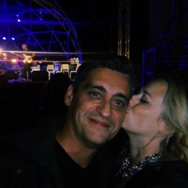 Fotografija Jelene Veljače i Vita Turšića koju je Veljača objavila na svom Instagram profilu