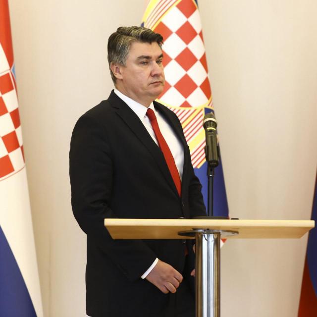 Predsjednik Republike Zoran Milanović