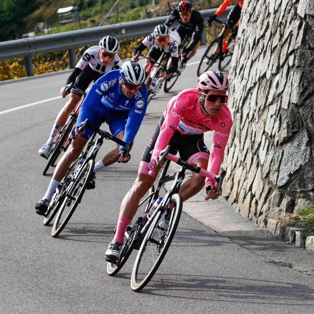 18. etapa utrke Giro d'Italia, ilustracija