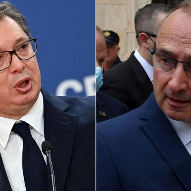 Aleksandar Vučić i Gordan Grlić Radman
