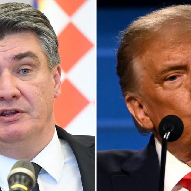 Zoran Milanović i Donald Trump