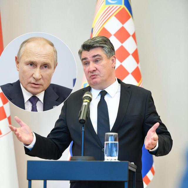 Zoran Milanović i Vladimir Putin