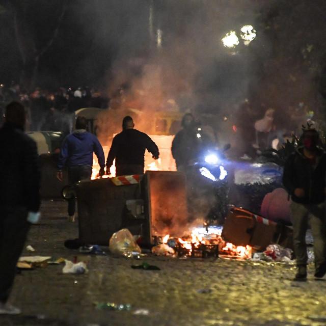 Prosvjedi u Napulju