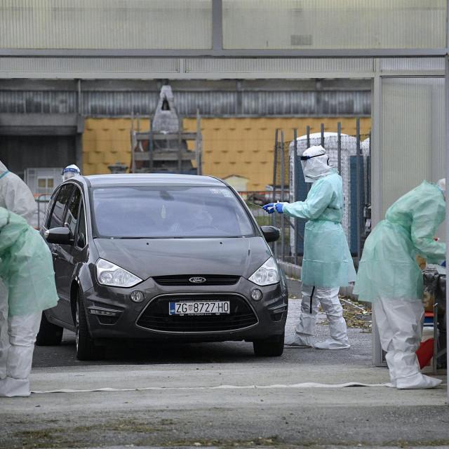 Istočno parkiralište Zagrebačkog velesajma.<br />