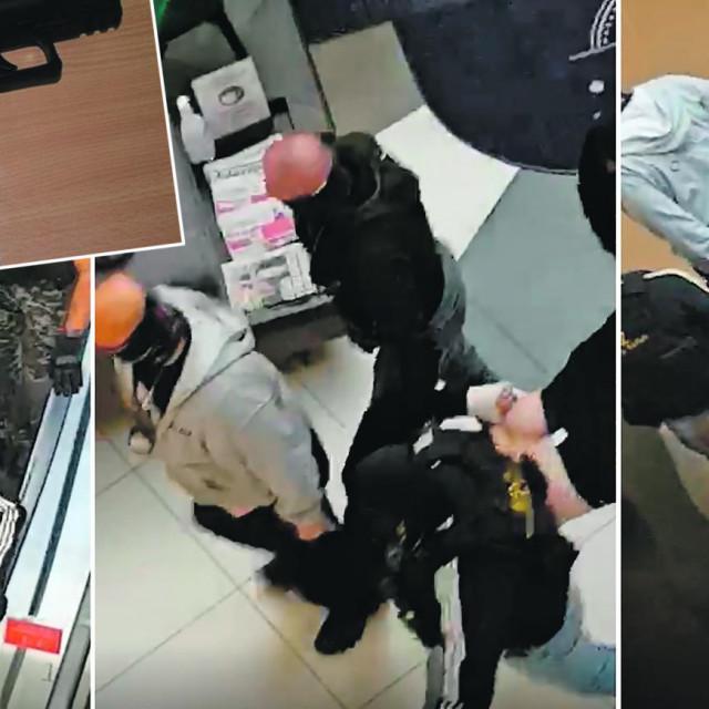 Uhićenje u Areni