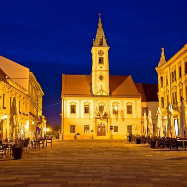 Varaždin, centar grada