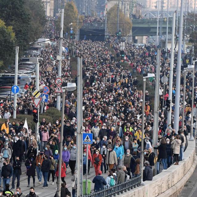 Prosvjedi studenata u Budimpešti