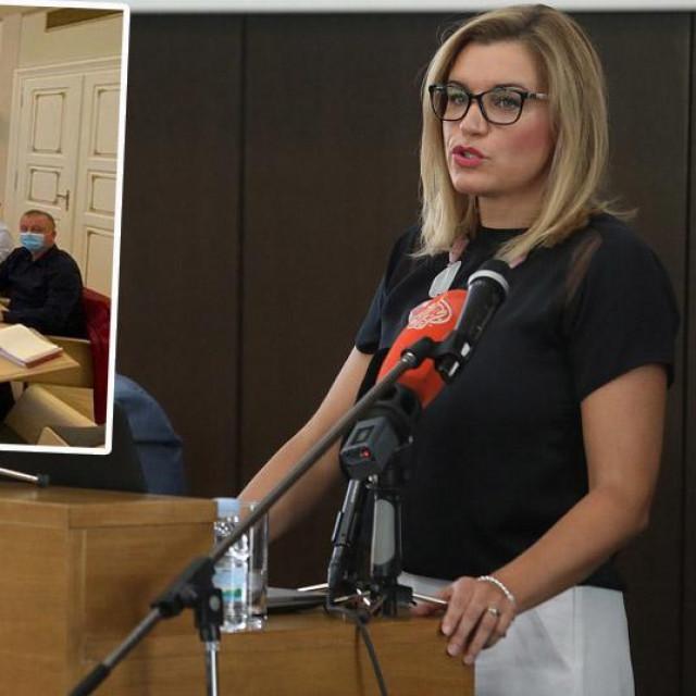 Nikolina Brnjac, subotnji sastanak u Vladi (u okviru)