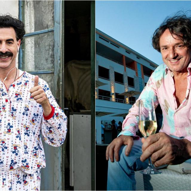 Borat i Goran Bregović