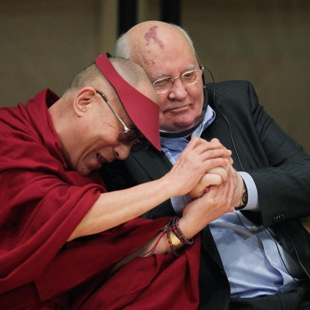 Dalaj Lama i Mihail Gorbačov