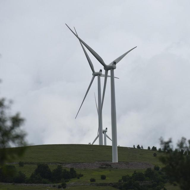 Vjetroelektrana/Ilustracija