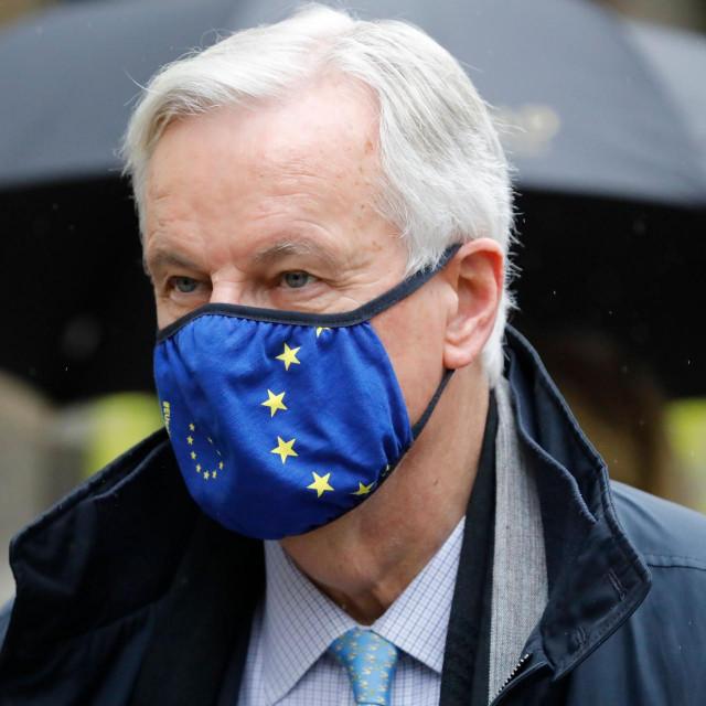 Glavni europski pregovarač Michel Barnier