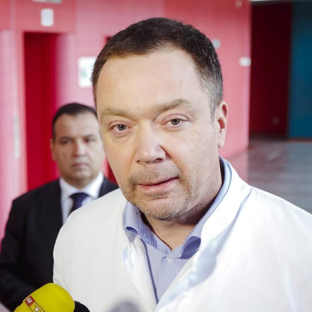 Ravnatelj KB Dubrava Srećko Marušić