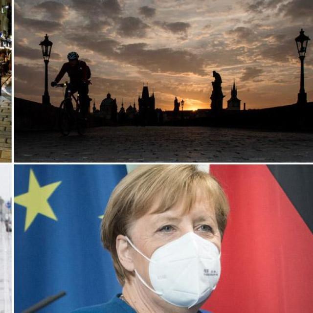 Prizori iz Pariza, Beča, Praga i Angela Merkel