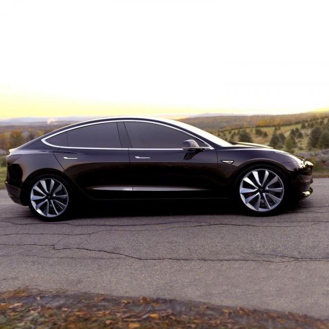 Tesla Model 3/ilustracija