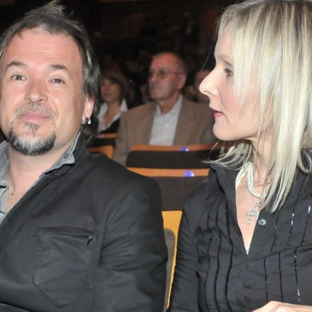 Zlatan Stipišić Gibonni sa suprugom Sanjom