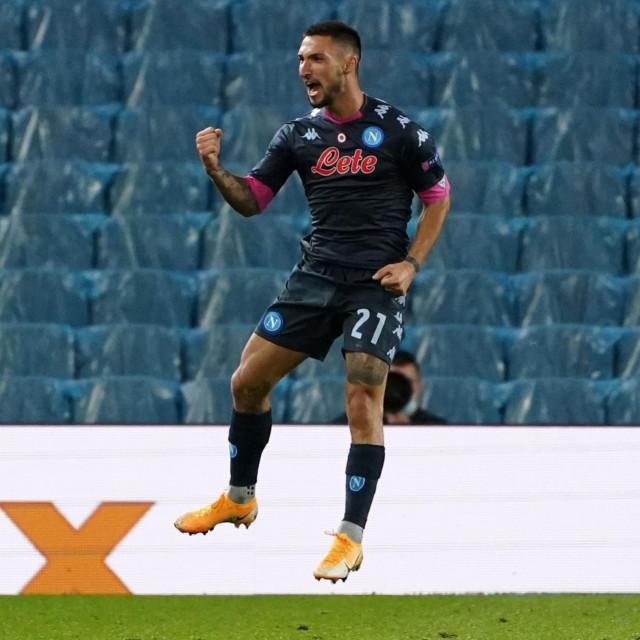 Matteo Politano slavi pogodak protiv Real Sociedada