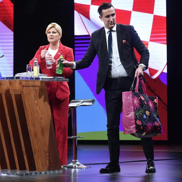 Kolinda Grabar Kitarović i Tomislav Madžar