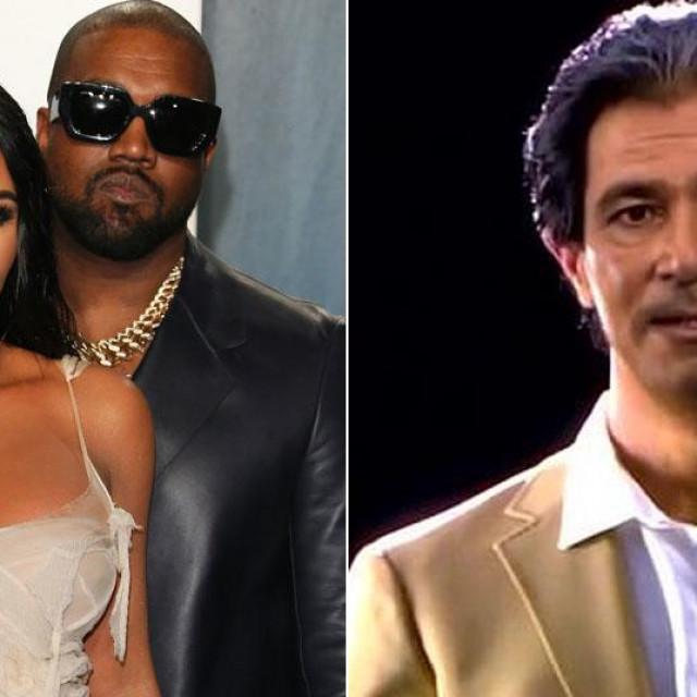 Kim Kardashian, Kanye West i hologram Roberta Kardashiana