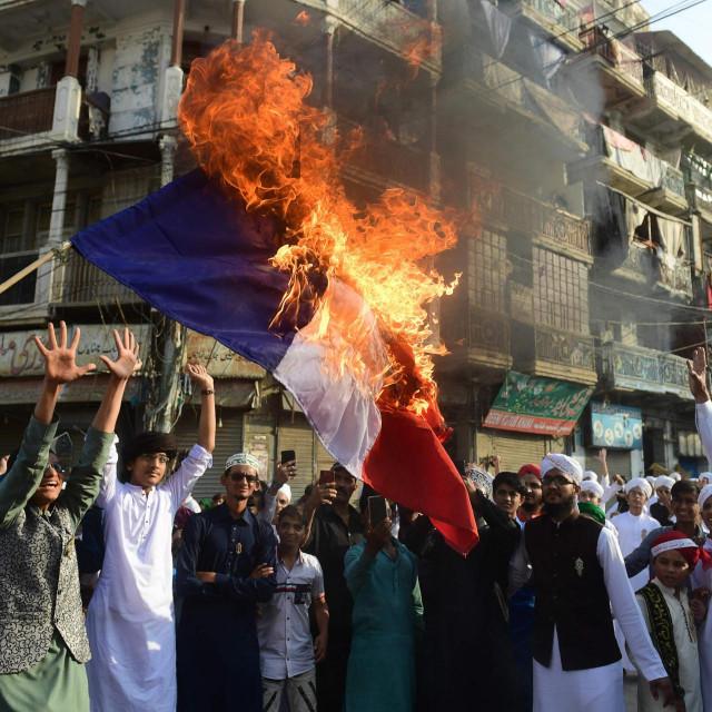 Prosvjed u Karačiju (Pakistan)