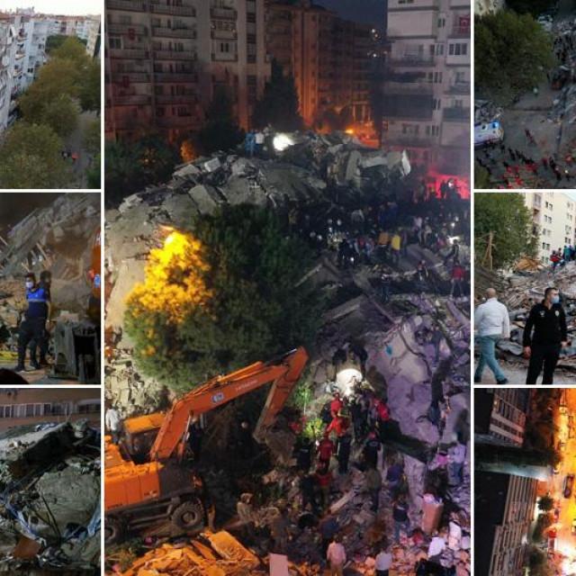 Prizori iz Turske nakon potresa