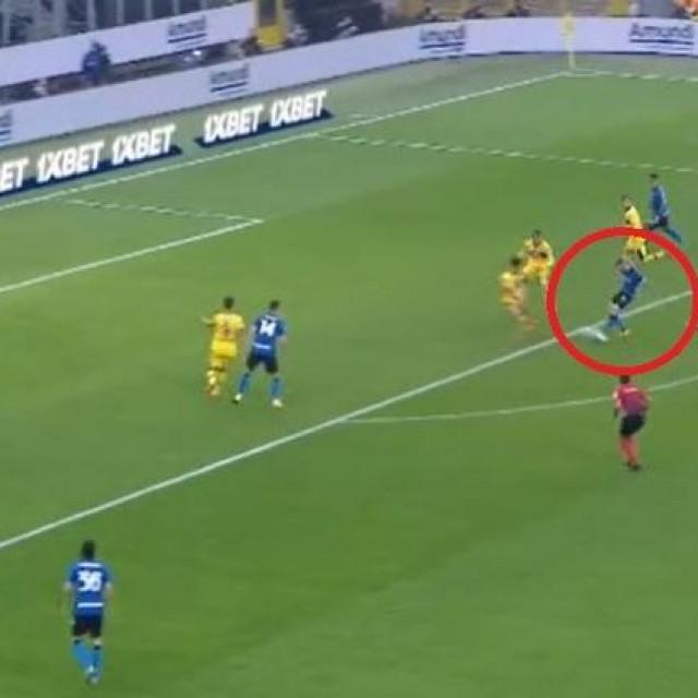 Brozovićev gol Parmi