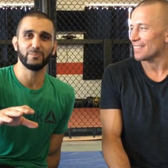 Firas Zahabi i Georges St-Pierre