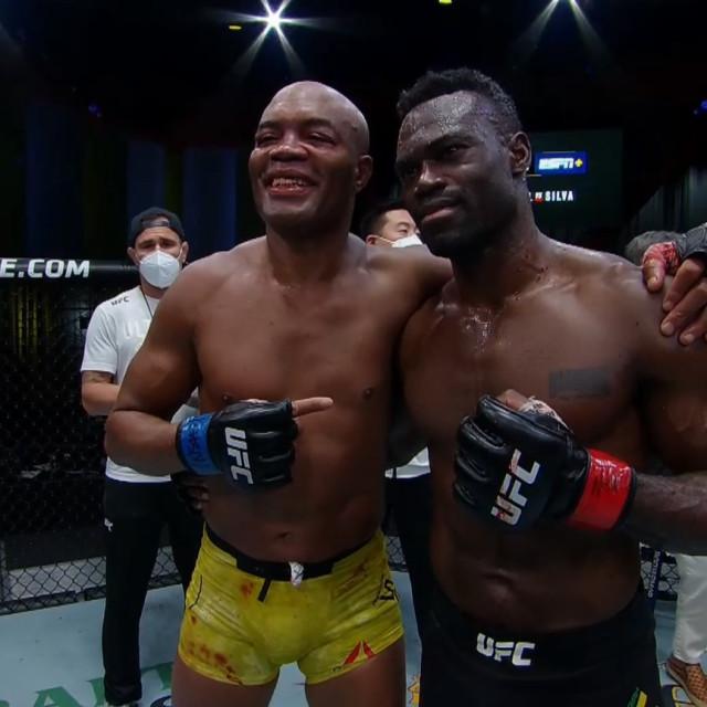 Anderson Silva i Uriah Hall