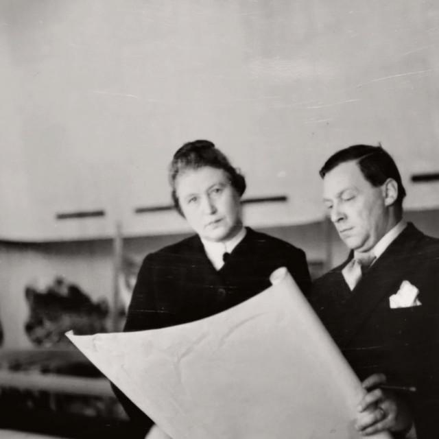 Aino i Alvar Aalto u New Yorku, gdje su 1939. postavili Finski paviljon