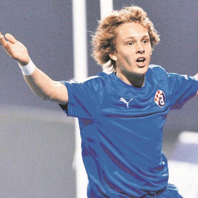 Alen Halilović 2012. godine na maksimirskom derbiju Dinama i Hajduka