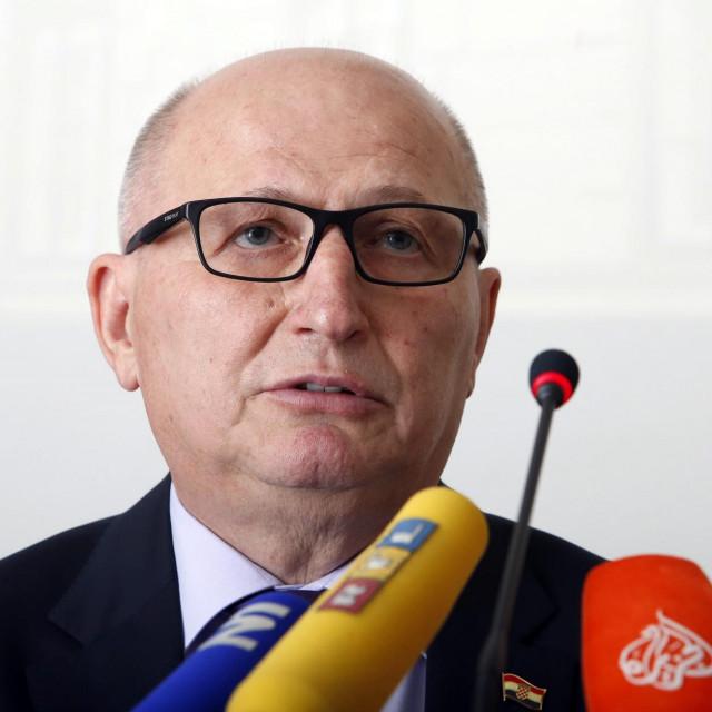 Predsjednik Ustavnog suda Miroslav Šeparović<br /> <br />