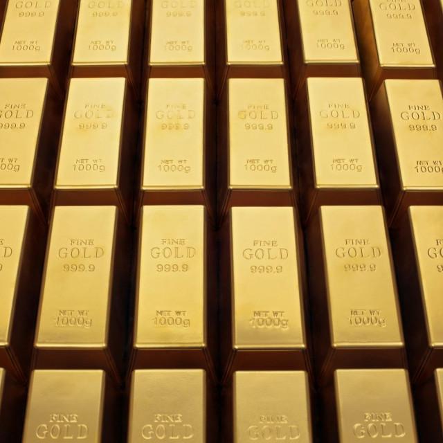 Zlatne poluge, ilustracija