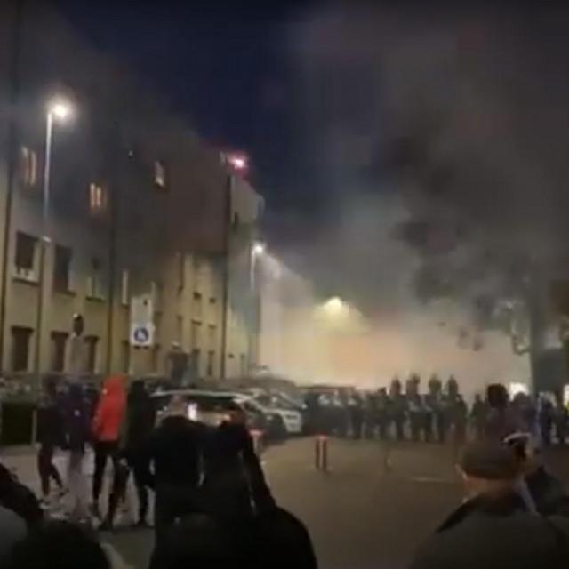 Prosvjed u Ljubljani