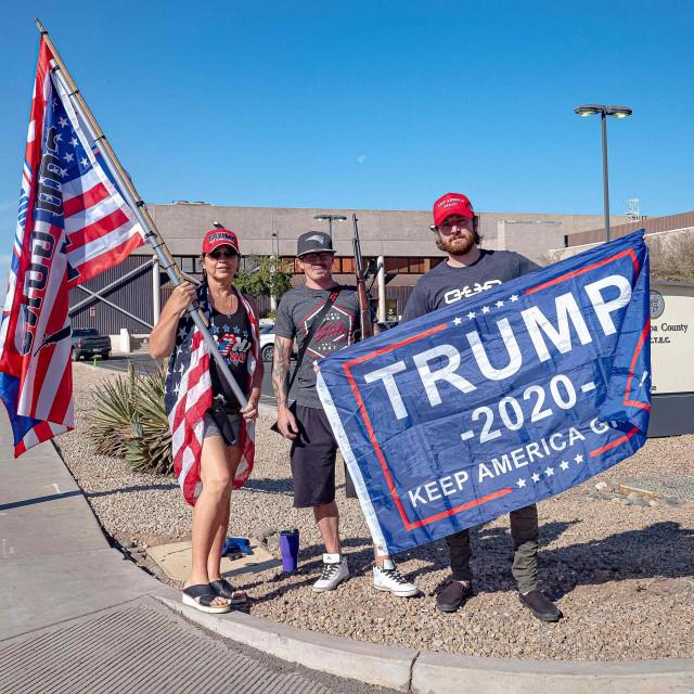 Simpatizeri Donalda Trumpa
