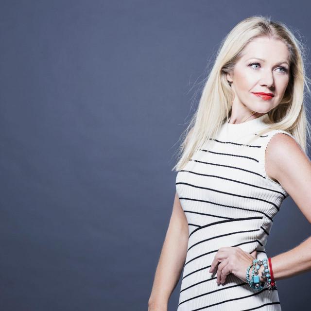 Televizijska i radijska voditeljica Barbara Kolar