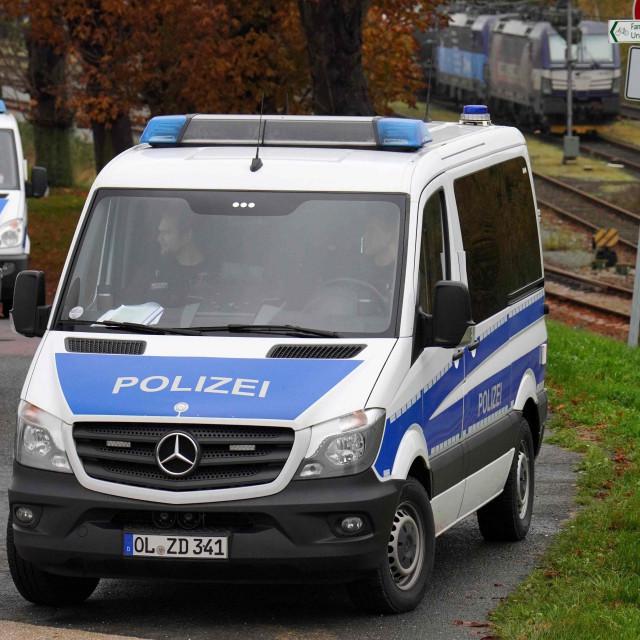 Njemačka policija / ilustracija