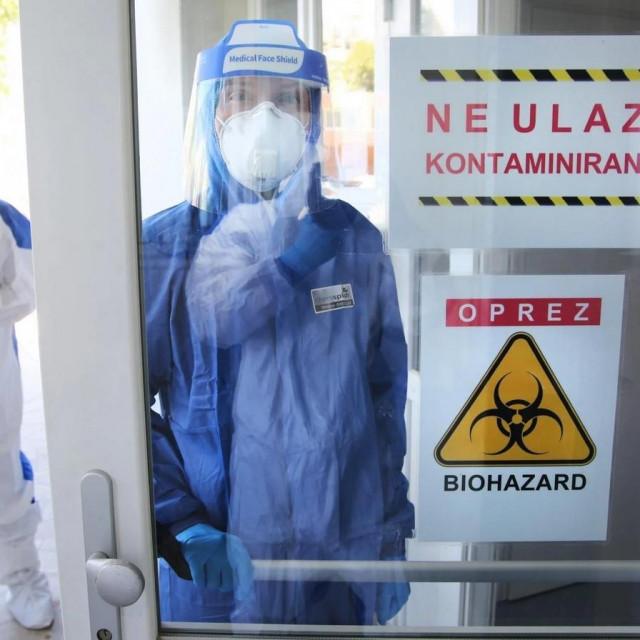 COVID odjel na infektologiji splitske bolnice na Križinama