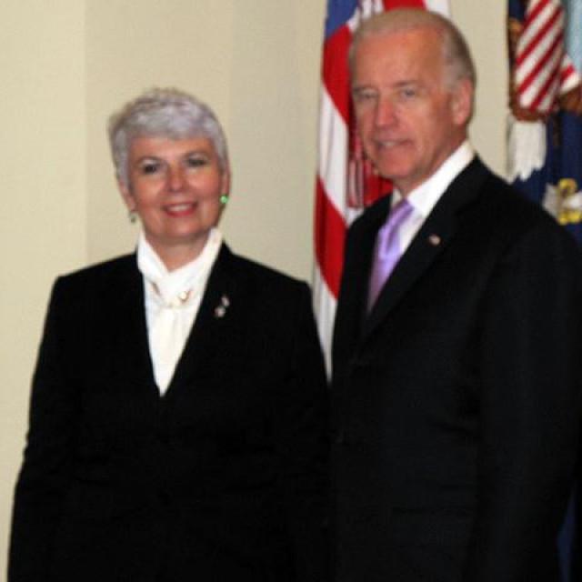 Jadranka Kosor i Joe Biden