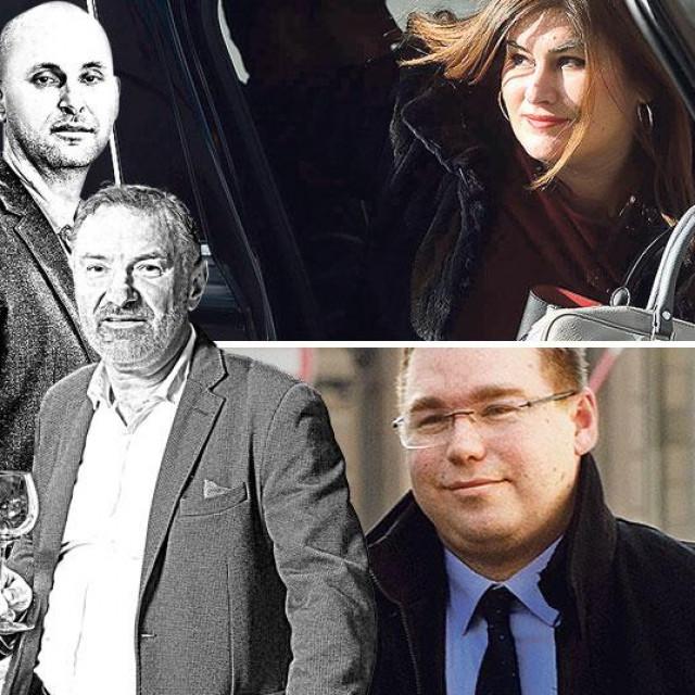 Tomislav Tolušić i Josip Galić (lijevo), Gabrijela Žalac i Marko Pavić (u sredini), Franjo Lucić i Marko Pipunić (desno)