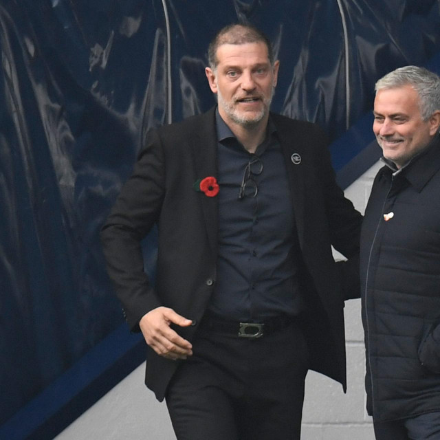 Slaven Bilić i Jose Mourinho