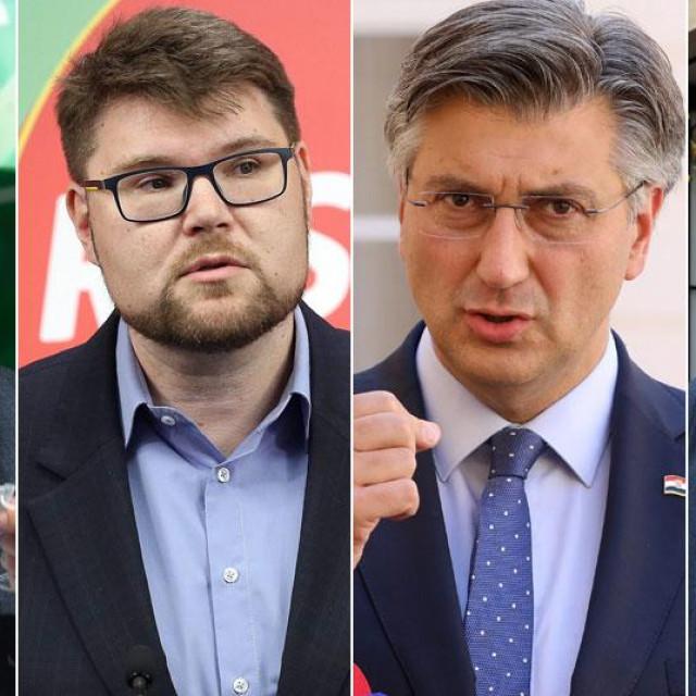 Škoro, Grbin, Plenković, Tomašević