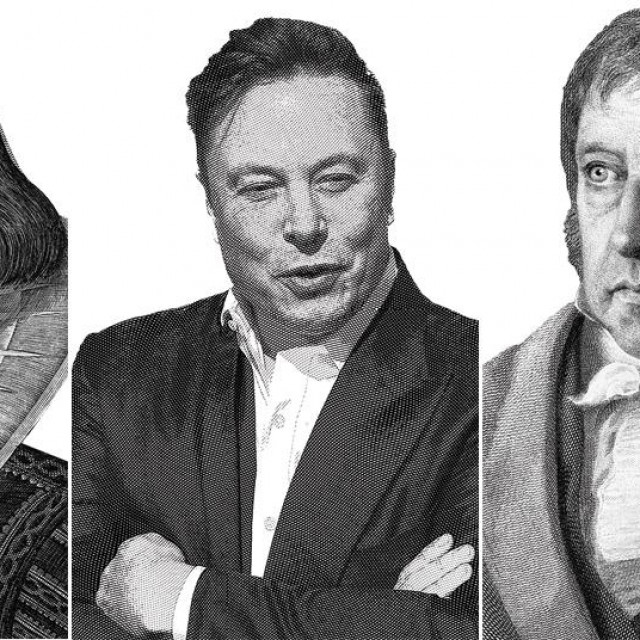 Shakespeare, Musk i Hegel