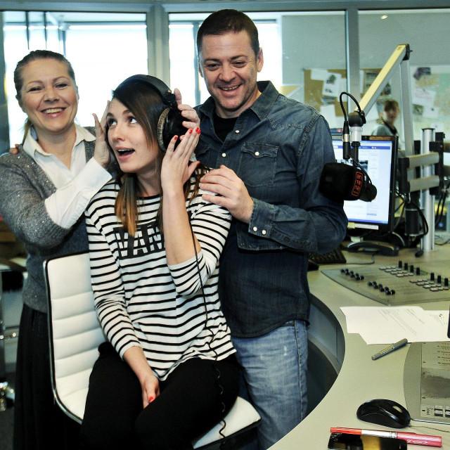 Tamara Loos, Barbara Kolar i Saša Buneta