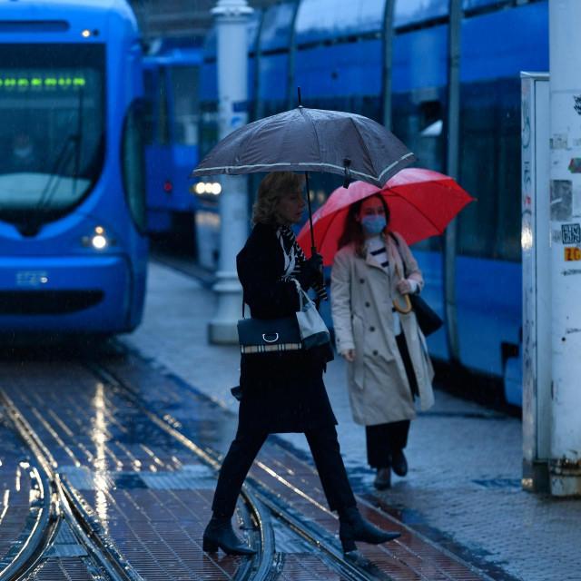 Ilustracija, kiša