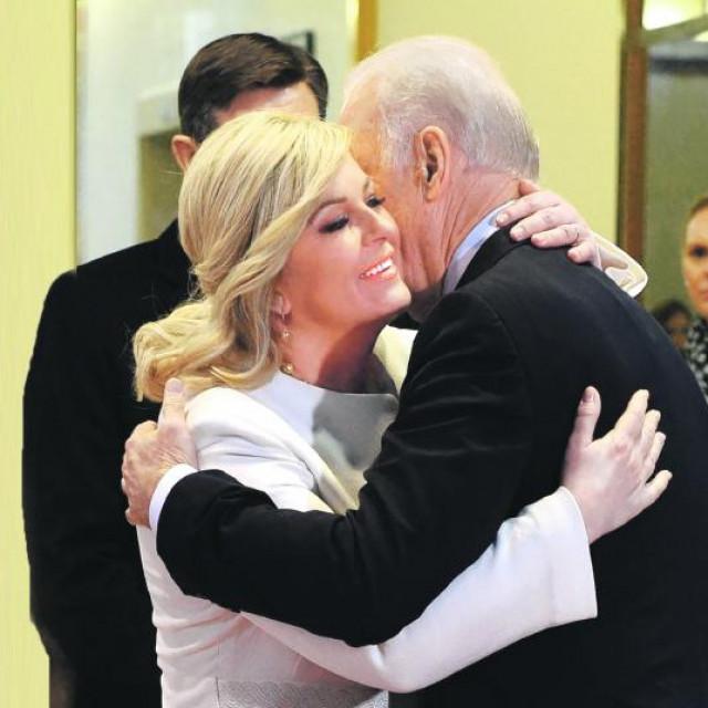 Kolinda Grabar-Kitarović i Joe Biden