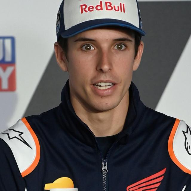 Alex Marquez nedavno na pressici na jednoj od utrka