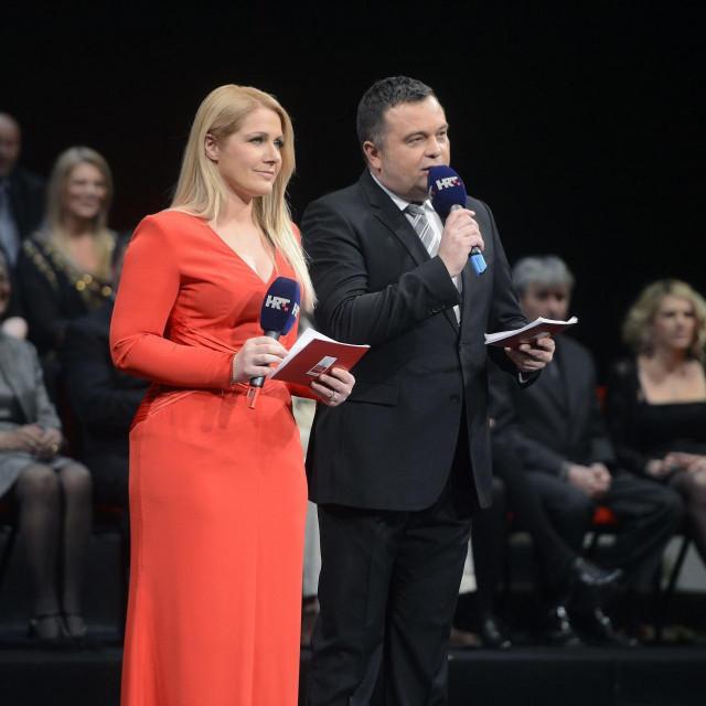 Barbara Kolar i Duško Ćurlić<br />