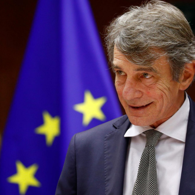 Šef Europskog parlamenta David Sassoli