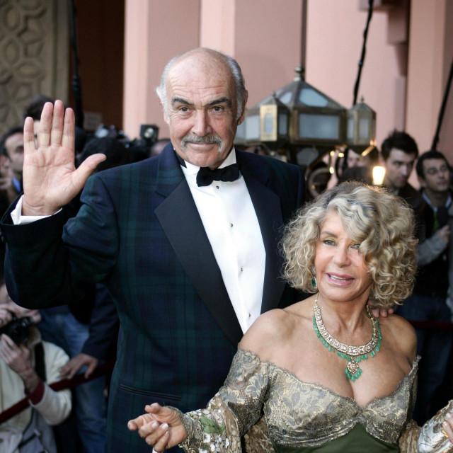 Sean Connery i supruga Micheline Roquebrune